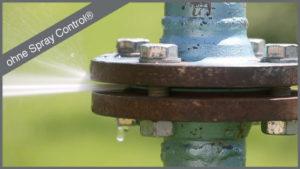 spray control betek flansch spritzschutz flanschverbindung flange spray shields flange safety spray shield